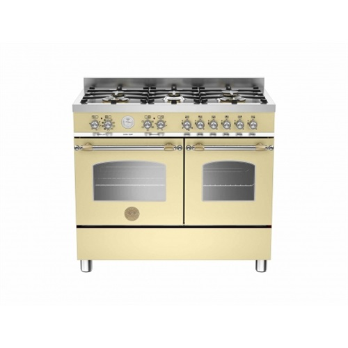 Heritage 100cm 6 burner electric double oven