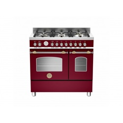 Bertazzoni Heritage 90cm Double Oven Available In Dual Fuel or Induction