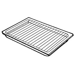 Lacanche Roasting Dish Insert for Grilling