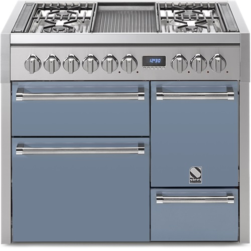 Genesi 100 3 Oven Solid Door