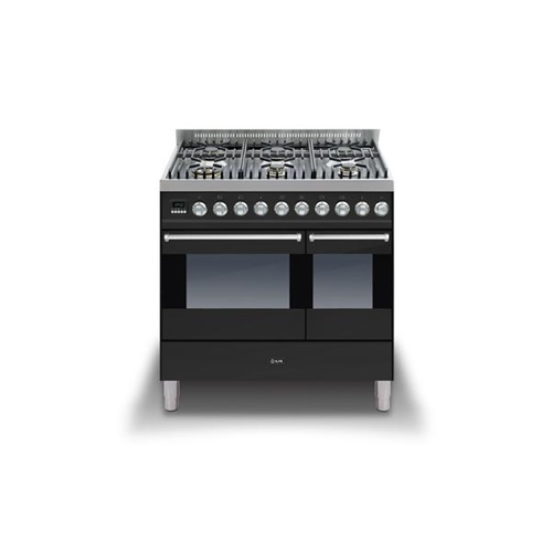 ILVE ULTIMO 90CM TWIN DUAL FUEL RANGE COOKER