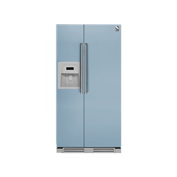 Steel Cuisine Genesi 90 Side By side Built-In Refrigerator