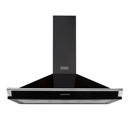 STOVES Richmond Chimney Hood with Rail 900mm