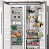 KitchenAid 130cm  Built-In European Side by Side Fridge-Freezer KCBPX 18120