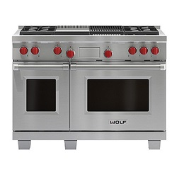 1219mm Dual Fuel Range with Charbroiler and Griddle ICBDF484CG