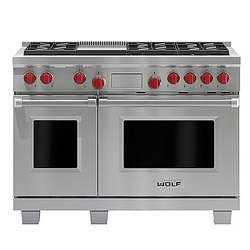 1219mm Dual Fuel Range with Griddle ICBDF486G