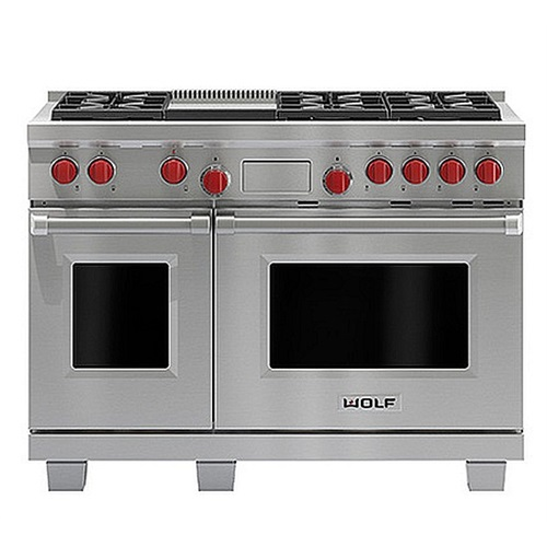 WOLF 1219mm Dual Fuel Range with Griddle