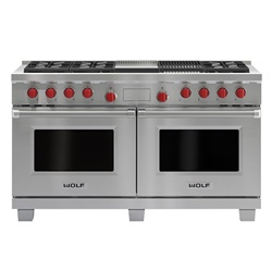 1524mm Dual Fuel Range with Charbroiler and Griddle ICBDF606CG