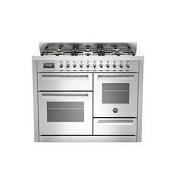 Bertazzoni Professional Series 110cm XG Twin Oven, Separate Grill Dual Fuel or Induction