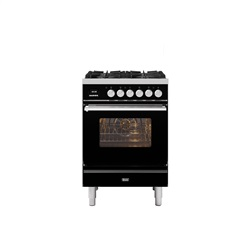ILVE Roma 60cm Single Oven Dual Fuel
