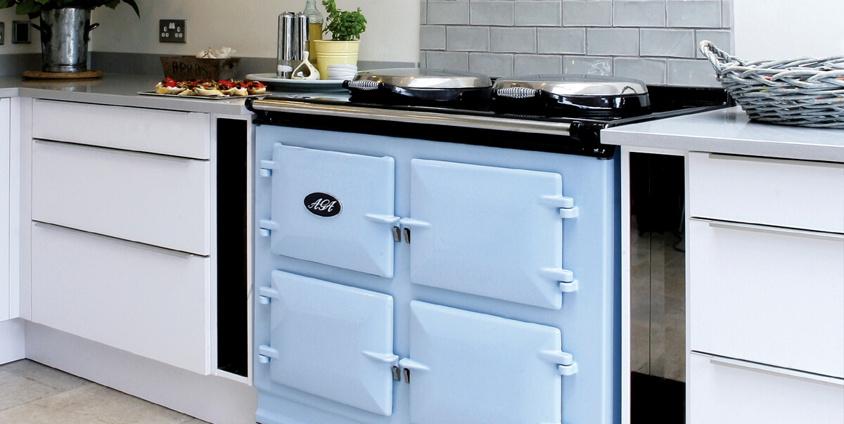 Aga Cooker in a Modern Kitchen