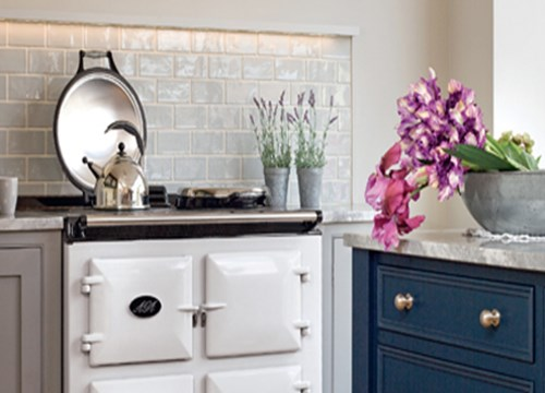 Aga Oven in a kitchen